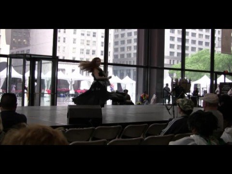 Shamila Khetarpal performs Aaja Nachle at the Dale...