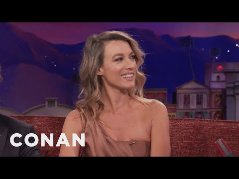 Natalie Zea's Unique Medical Problem   CONAN on TBS