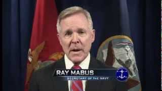 Presentation by Ray Mabus, Secretary of the US Navy on biofuels