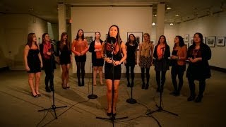 Kiss You / Unconditionally / Adore You Mash Up by Rubyfruit A Cappella, UConn
