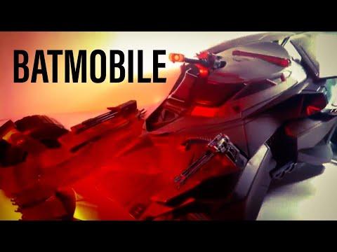 DC Comics Multiverse Justice League 1:12 Batmobile Action Figure Vehicle Review