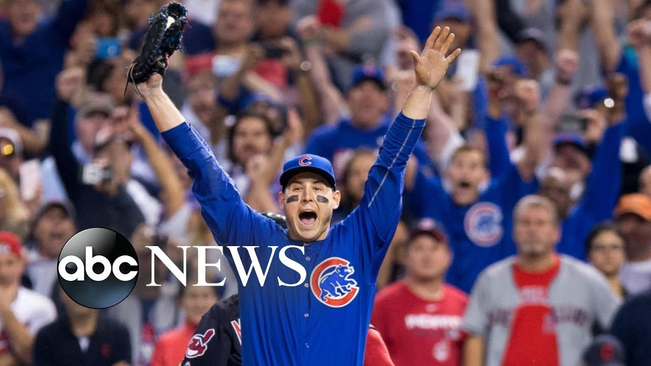 a058f143e7d Chicago Cubs  Anthony Rizzo Talks Golden Glove Win. Good Morning America
