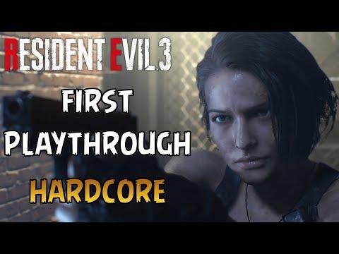 Resident Evil 3 Remake - Hardcore (First Playthrough)