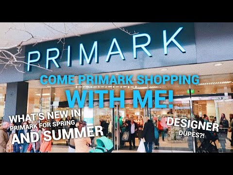 COME PRIMARK SHOPPING WITH ME!! - What's new in Primark for Spring and Summer | Danielle Jade