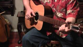 Saint James Infirmary Blues finger picking lesson