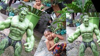 Hulk Playing in the Rain! With super arko || super arko tv