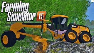 Construindo Estradas - Farming Simulator 2015