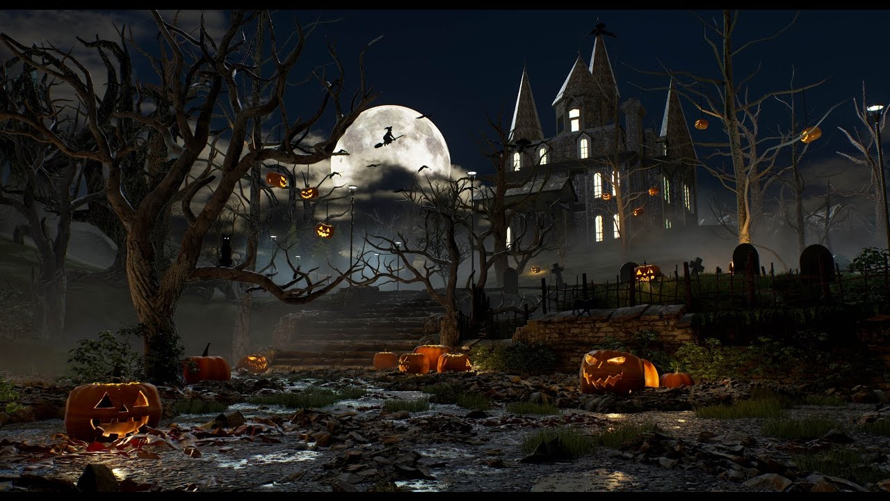 Halloween Spooky.Halloween Spooky House Unreal Engine Forums