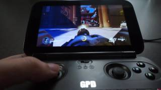GPD WIN Game Test   Overwatch