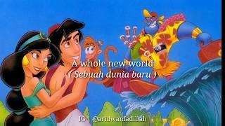 Lirik dan Terjemahan A Whole New World - ZAYN, Zhavia Ward | Lyrics | Ost. Aladdin