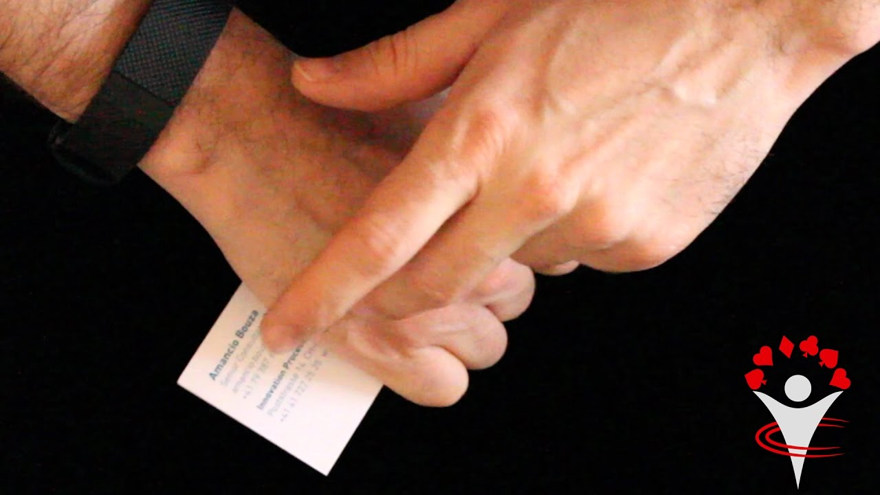 How to Hand Out Your Business Card with a Magic Trick: Self ...
