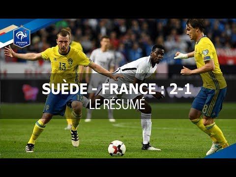 Suède - France : le résumé  et les buts (2-1)