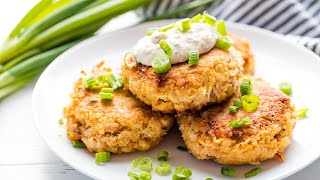 How to Make Perfectly Easy Crab Cakes  The Stay At Home Chef