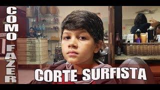 Como fazer corte Surfista