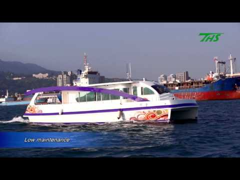 Ting Hai Shipbuilding THS-H1 Hybrid Electric Touring/Passenger Vessel