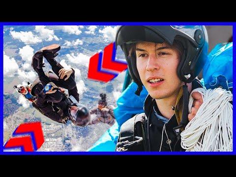 Youtube: SEB – Freestyle en CHUTE LIBRE à 200km/h! (Prends d'la Vitesse)
