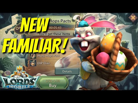 New Familiar Released! - Lords Mobile