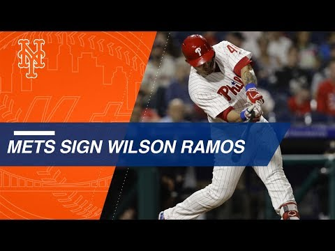 Wilson Ramos signs with the Mets