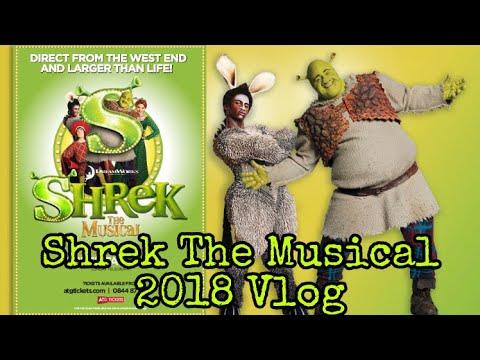 Big Bright Beautiful World-Shrek The Musical Vlog 2018