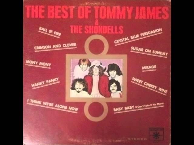 Tommy James The Shondells Baby Baby I Cant Take It No More