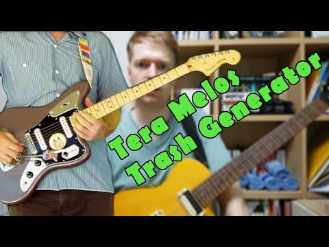 Tera Melos - Trash Generator Guitar Walk-through With Tabs