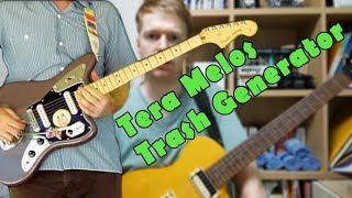 Tera Melos - Trash Generator Guitar Walk-through With Tabs
