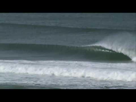 Surfing Dunedin NZ - March 2010