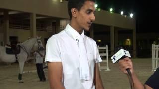 البطولة المفتوحة الأولى   التقرير الرابع   تصريح الفارس بندر بن محفوظ