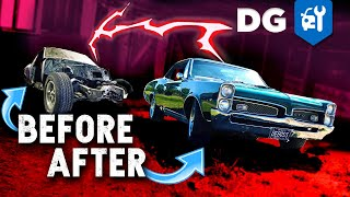 Building a Muscle Car in 15 Minutes | '67 GTO #TIMELAPSE