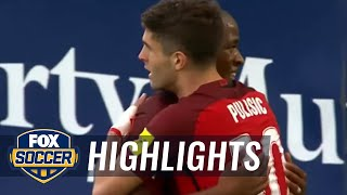 Pulisic scores opener vs. Trinidad and Tobago | 2017 CONCACAF World Cup Qualifying Highlights