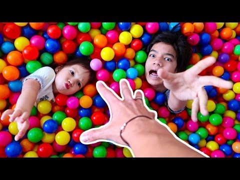 LOST THEM IN THE BALL PIT!