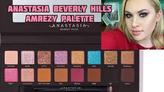 Amrezy Palette Anastasia Beverly Hills 3 макияжа свотчи обзор