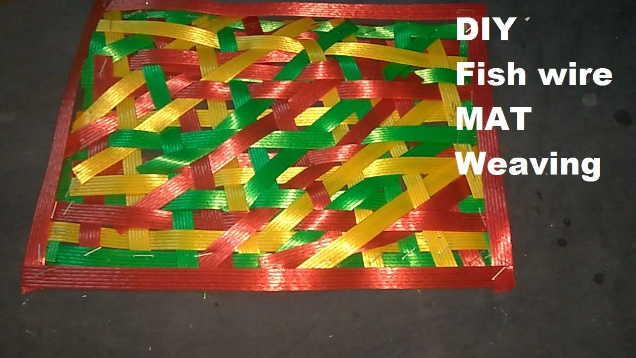 Fish Wire Mat Weaving - YouTube