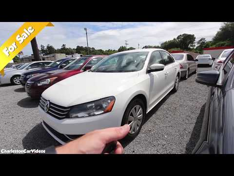 Here's a 2013 Volkswagen Passat S | For Sale Review - May 2019 | CharlestonCarVideos