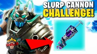 HEALY POUZE ZE SLURP CANNONU *CHALLENGE* VE FORTNITE!