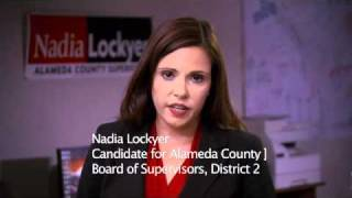 Nadia Lockyer for Alameda County Board of Supervisor, District 2