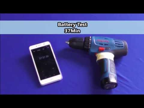 Dongcheng Cordless Driver Drill 10-10B battery test