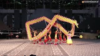 Dinh Trấn Võ Thi múa rồng [lion dance festival 2019 sun world da nang wonder]