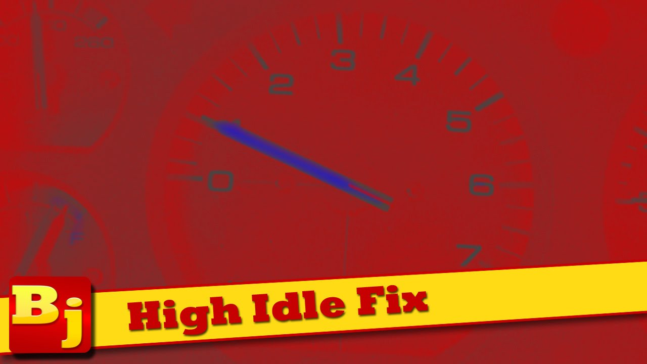 How To Fix A High Idle Tps Adjust Youtube Cadillac Eldorado Wiring Diagram