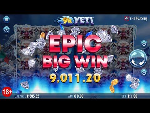 9k Yeti Slot By 4ThePlayer.com