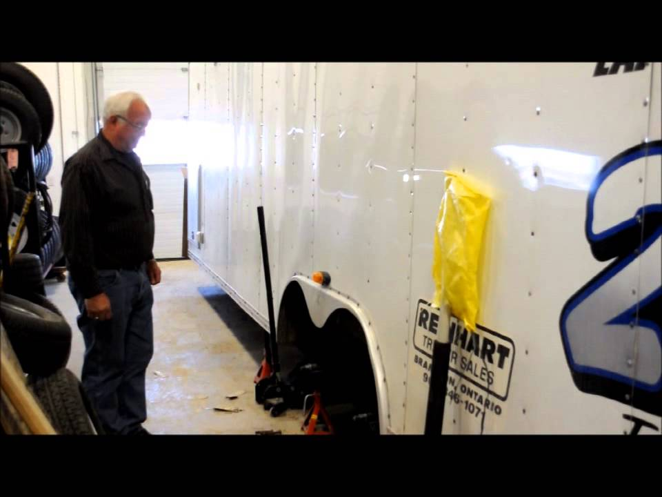 Car Mate Racing Trailer Maintenance & Light Repair at Reinhart - YouTube