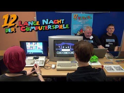 12. Lange Nacht der Computerspiele in Leipzig - Alle Räume, Vitrinen & Aussteller - 21.4.2018