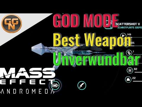 Mass Effect Andromeda Guide: Beste Waffe - Best Weapon - Overpowered Shotgun - Unverwundbar