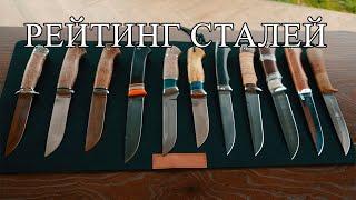 Какую сталь выбрать для ножа - новый рейтинг сталей 2020