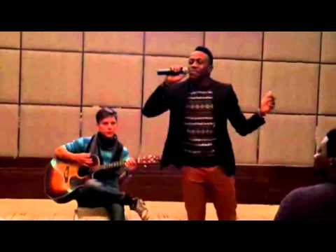 "Daniel's Accapella of ""Nothing is Impossible"" MyDoubleDouble Kharkiv"