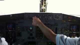 Landing on Grand Cayman Cayman Islands
