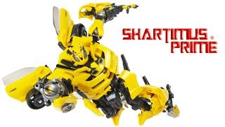 Transformers MPM Bumblebee Masterpiece Movie 2007 Movie 2010 Camero Action Figure Toy Review