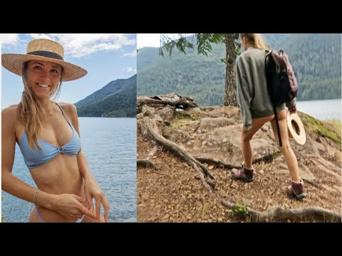 hiking to stay lean | 2 DAY VLOG // what I eat VEGAN