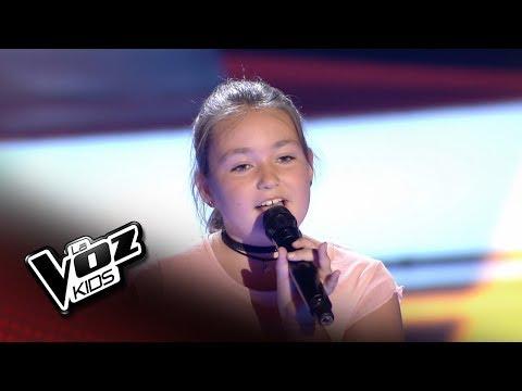 """Rocío: """"Pero me acuerdo de ti"""" – Audiciones a Ciegas  - La Voz Kids 2018"""