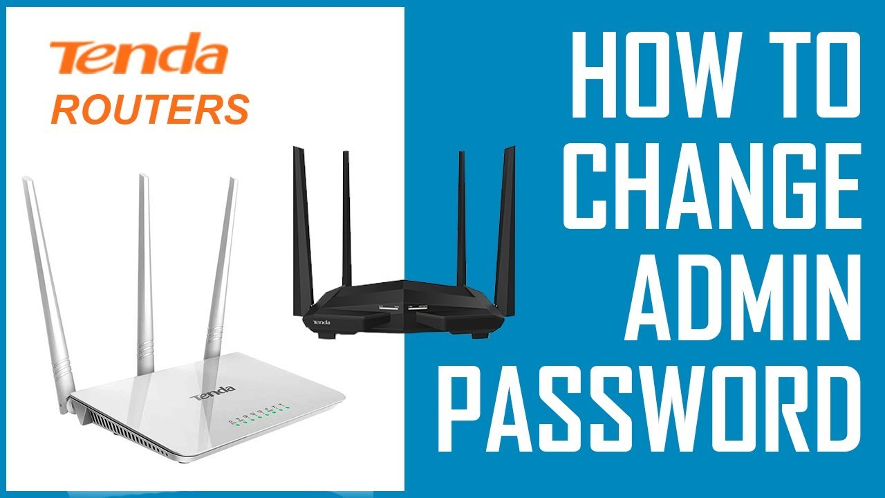 How to Change Tenda Router Login Password | Change Tenda Router Admin  Password